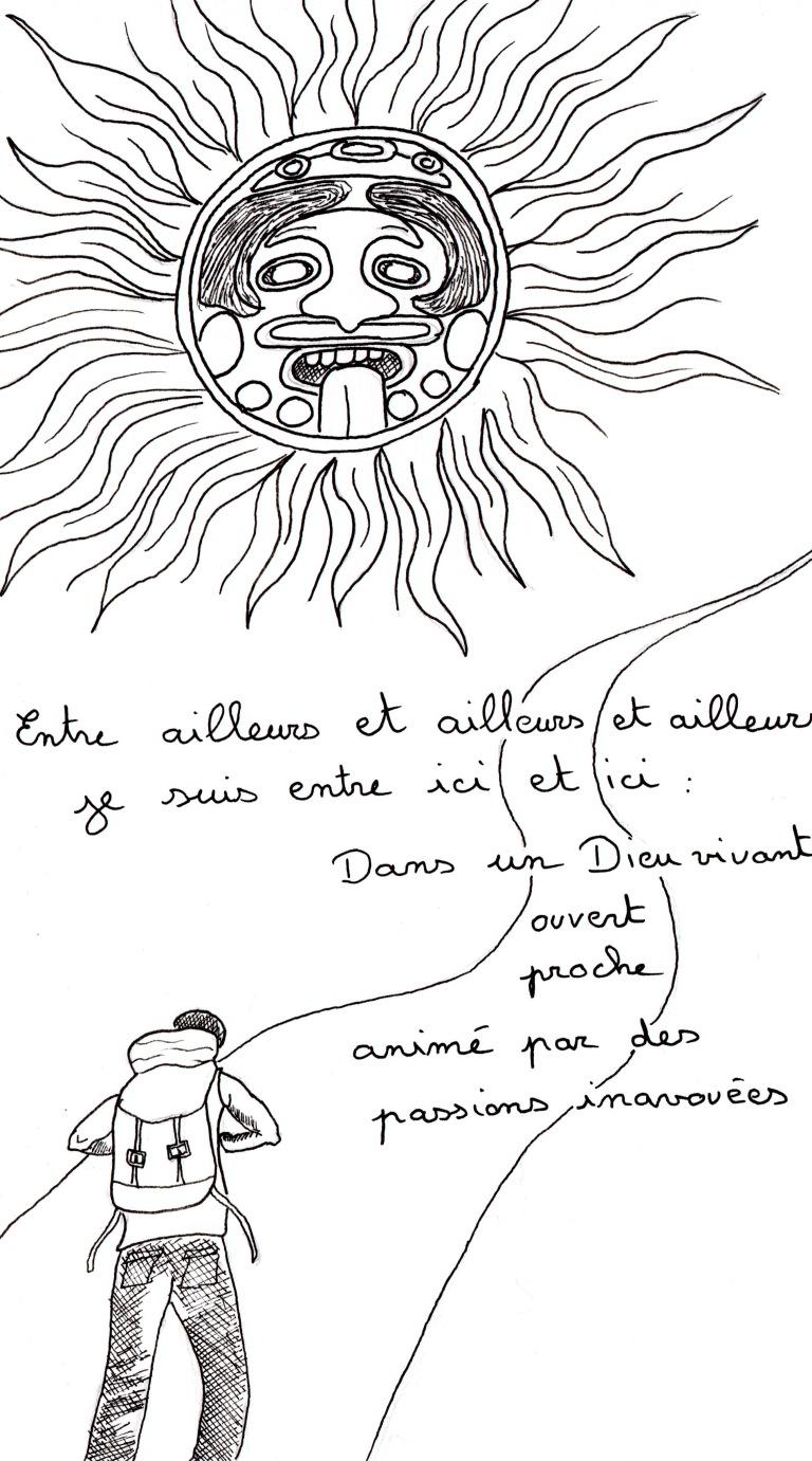 """Poème """"Je marche"""" de Kenny Ozier Lafontaine. Page n°10.jpg"""