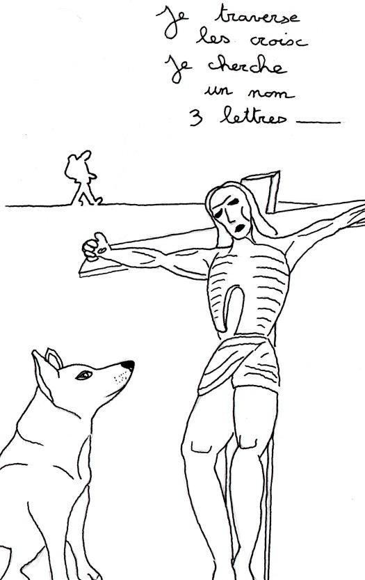 """Poème """"Je marche"""" de Kenny Ozier Lafontaine. Page n°3"""