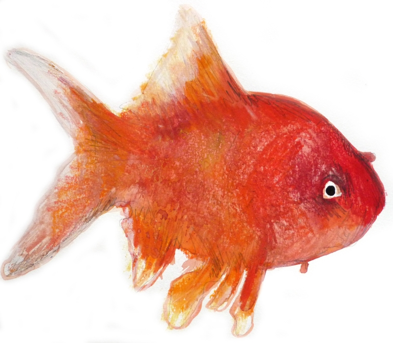 Antonin Artaud, Petit poème des poissons de la mer.