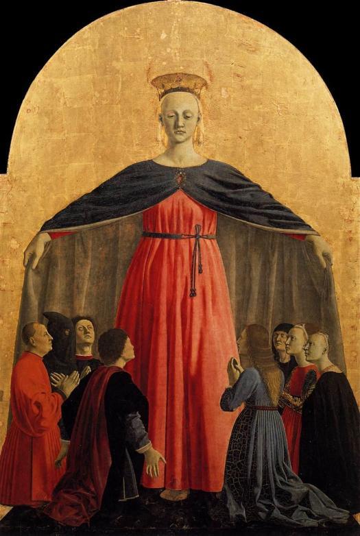 Piero_della_Francesca_-_Polyptych_of_the_Misericordia_-_Madonna_of_Mercy_-_WGA17449