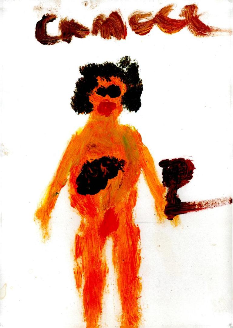dessin enfant malade